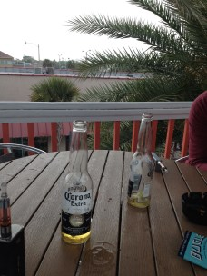 Beers and chatting in Jacksonville
