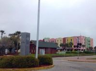 Downtown Fernandina Beach... reminds me of Rainbow Row.