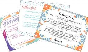 Free School Prayer Printables