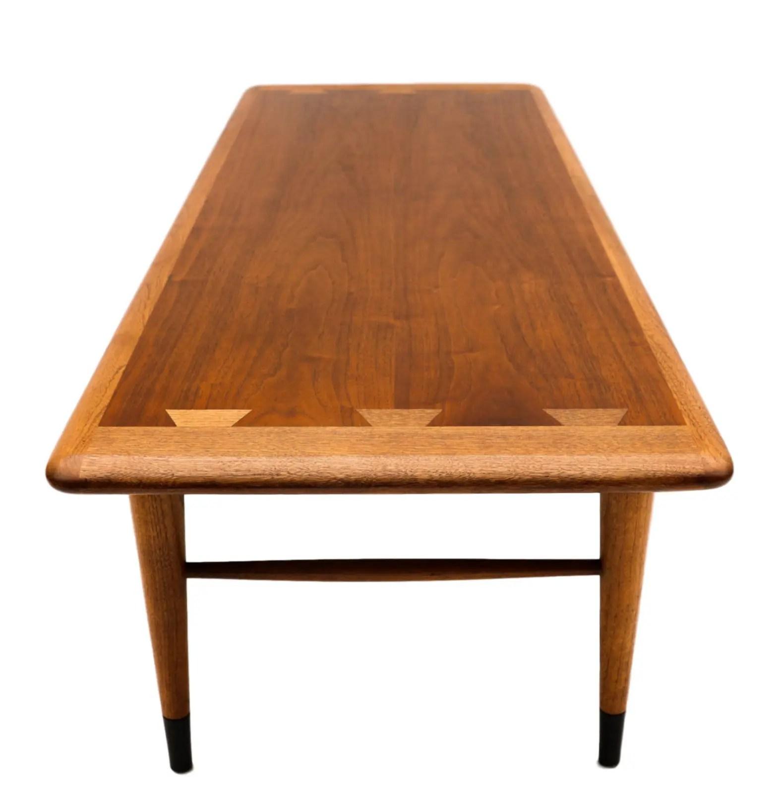 Mid Century Modern Furniture LANE Coffee Table Inlaid