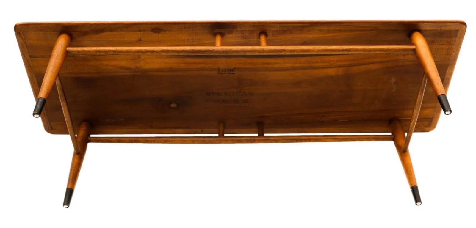 Mid-Century Modern Furniture LANE Coffee Table Inlaid