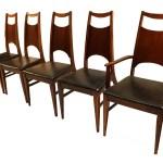 Mid Century Modern Bassett Dining Chairs