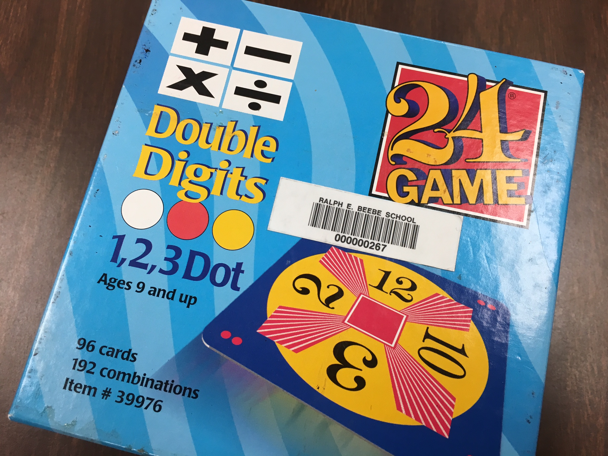 Math Talk With 24 Cards