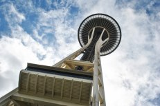 Space Needle, Seattle City Center, August 2016