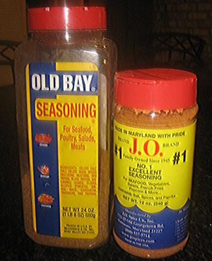 Old Bay or J.O.