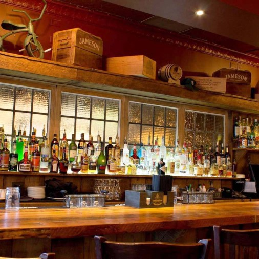 Image of Bar side at Lahinch Grill & Tavern in Potomac, Maryland.
