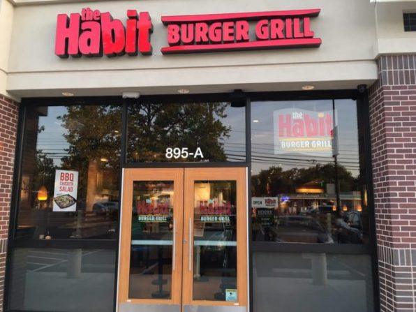 Photo of Outside of Habit Burger Grill Rockville. Md. Courtesy of Yelp.com.