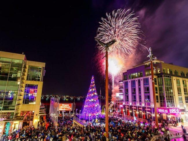 Tree Lighting & Tree Lighting Ceremony and Fireworks at the National Harbor Nov. 12