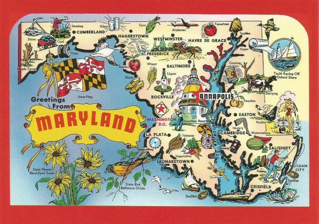 Maryland - Magazine cover