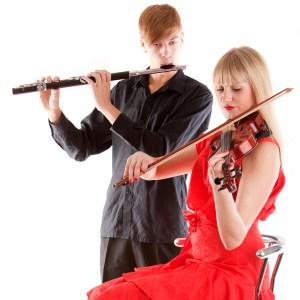 Flute and Violin sq21