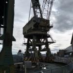 gigantic crane in Mare Island