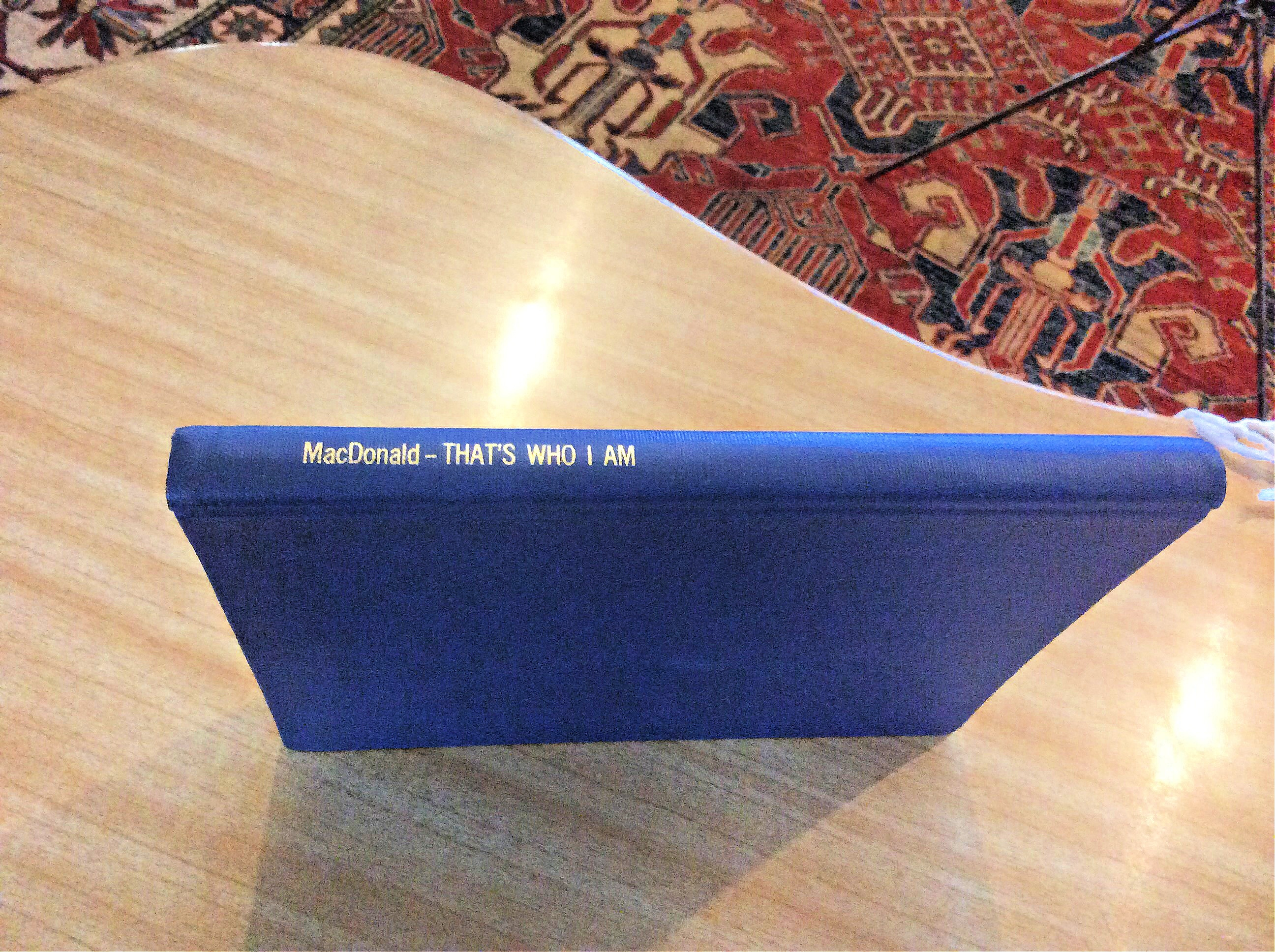 bound copy of a master's thesis