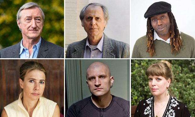 Literary Prize for the Man Booker -- big names and many unknowns