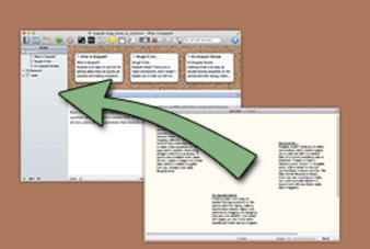 Scapple mindmapping software