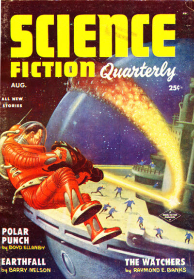 sending out sci fi fiction cover of book