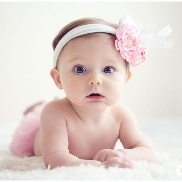 Neelie is 6-months – Arlington Photographer