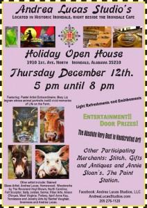 Andrea Lucas Studios Holiday Show