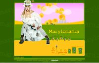 Marylomania, początki strony rok 2003
