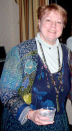 Maryl Fletcher de Jong at Enid Zimmerman's retirement party in Chicago, 2006.