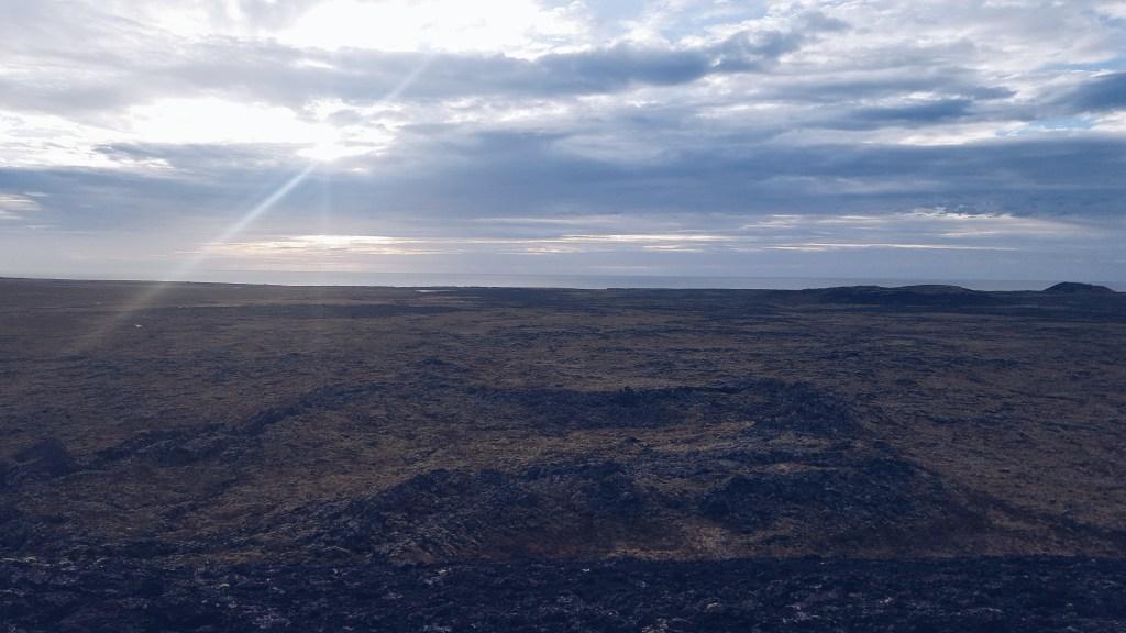 Snæfellsnes - Vulkankrater Saxholl