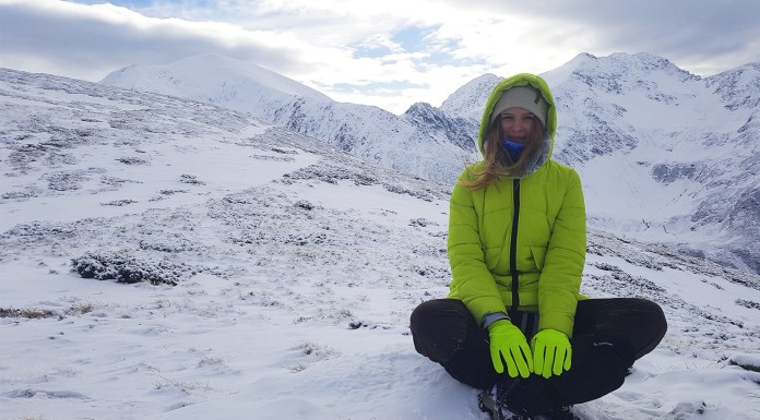my first hike on fagaras mountains