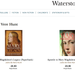 waterstones mary magdalene books