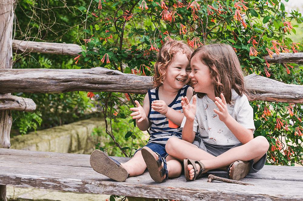 Spring Style For Kids with OshKosh B'gosh | The Ladybird Johnson Wildflower Center in Austin Texas