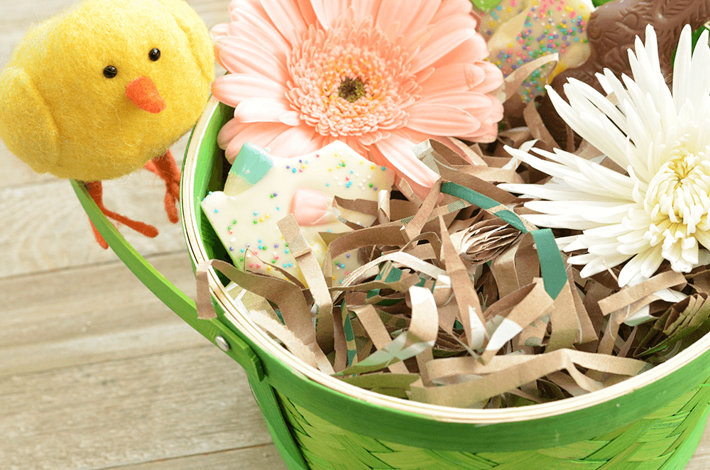 Earth-Friendly Easter Grass