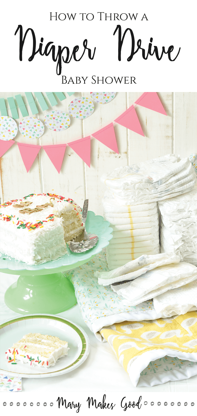 How to Throw a Diaper Drive Baby Shower - Party Ideas