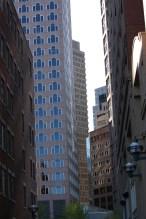 cavernous Financial District