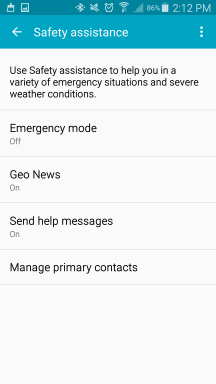 """Send help message is """"On""""!"""
