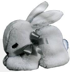 Sleepy Crouching Bunny