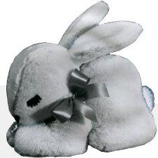 Musical Sleepy Crouching Bunny