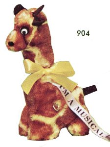 Musical Giraffe with Moving Head