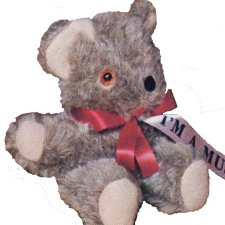 Musical Old Fashioned Teddy Bear – Small