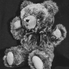 Tipped Caramel Wool Mohair Teddy Bears