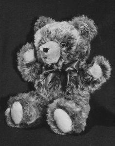 Tipped Caramel Wool Mohair Teddy Bears