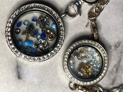 Sea themed locket