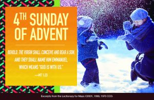 4th Sunday of Advent banner