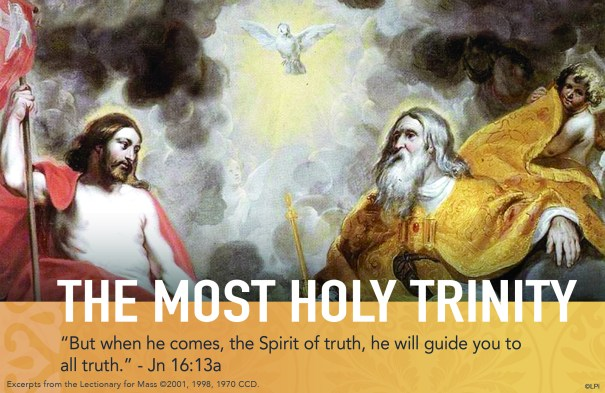The Most Holy Trinity Sunday and Father's Day ~ June 16, 2019 | The