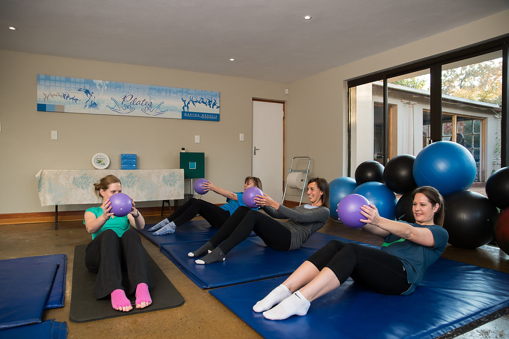 Maryna Wessels Pilates Group Classes