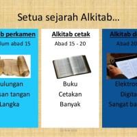 Memahami Keberadaan Alkitab Elektronik