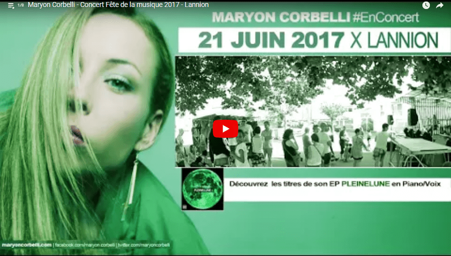 concerts maryon corbelli - video