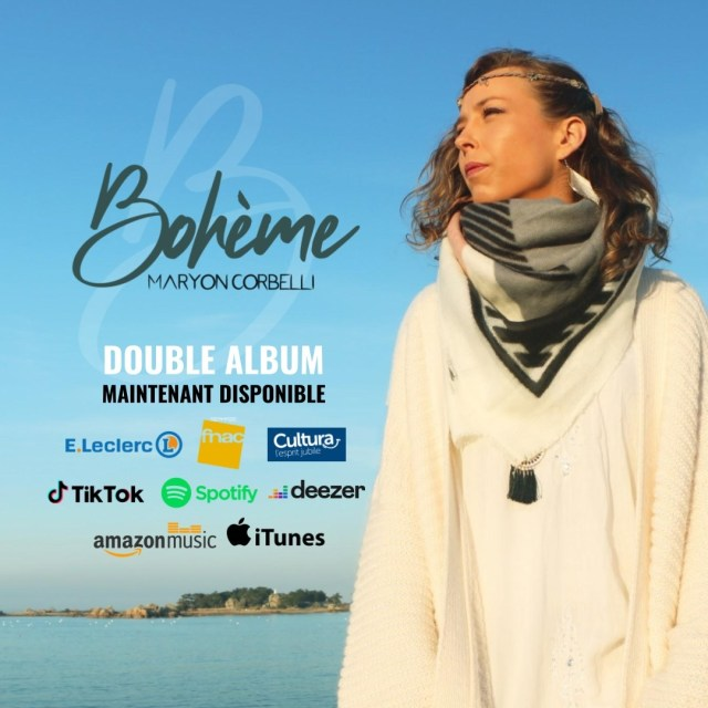 Pochette album Bohème - Maryon Corbelli