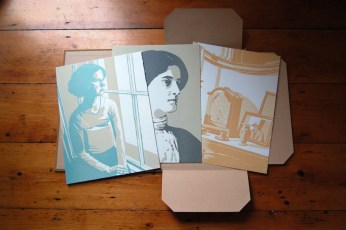 Special edition includes portfolio of three prints