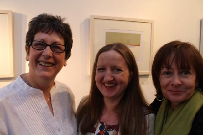 Caroline Bond, Mary Plunkett & Siobhan Hyde (thanks to Siobhan for the photo)