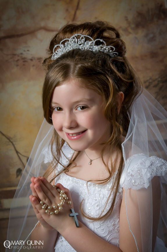 Communion Photographer in Cherry Hill New Jersey