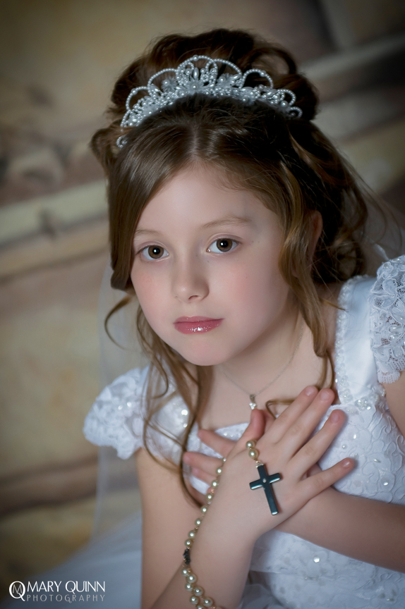 Moorestown New Jersey Communion Photographer
