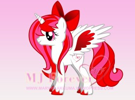Mary-Joe pony: drawn by me!