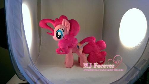 Pinkie Pie plushie (for sale) by meeeee!!!!